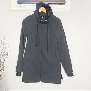 Halifax traders winter lined coat jacket hooded M